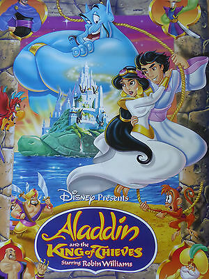 ALADDIN The King of Thieves poster - RARE !!!