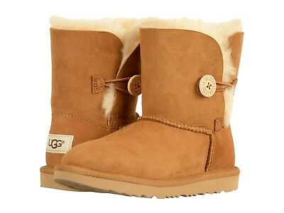 UGG®- WN Bailey Button II 1016226 -Water/Stain resistant-100%Authentic-Chestnut
