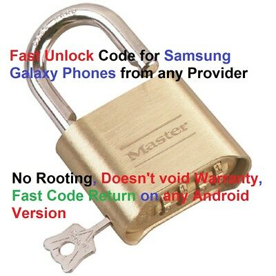 Fast Remote Unlocking Samsung Galaxy S5, S6, S8, S8+, S7 Edge, Note - No Rooting