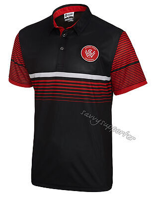 Western Sydney Wanderers 2018 Sublimated Polo Shirt Sizes S-5XL BNWT