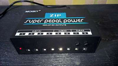 ZIP Power Supply.....specs as Voodoo Lab Pedal power 2 Plus