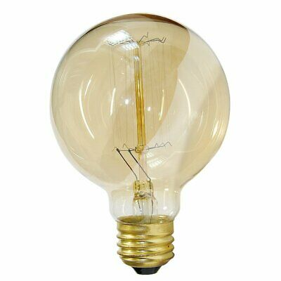 E27 Screw 60W 220V Dimmable G80 Edison Bulbs Lamp Vintage Lighting Filament Bulb