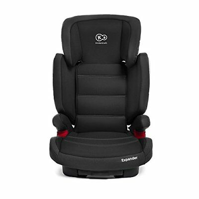 Kinderkraft Expander Booster Isofix Car Seat   Group 2 3, 15-36 kg, Black