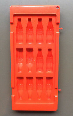 COCA COLA ICE CUBE TRAY MOULD Red Retro OFFICIAL Coca Cola Product with Logo