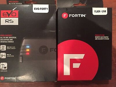 Fortin OEM Plug & Play T-Harness Remote Start Car Start System for 2008-up Ford/