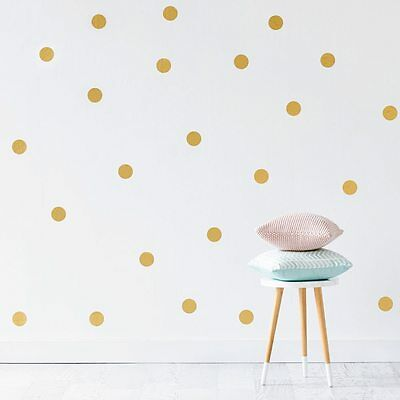 NEW Adairs Kids Gold Spots Removable Wall Stickers