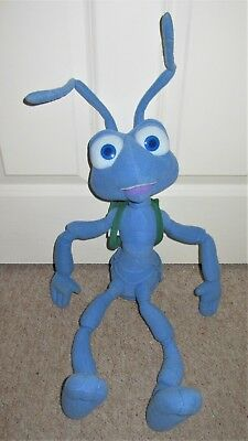 """Disney A Bug's Life Large Talking Flik The Ant Plush 30"""" Soft Toy With Sound"""