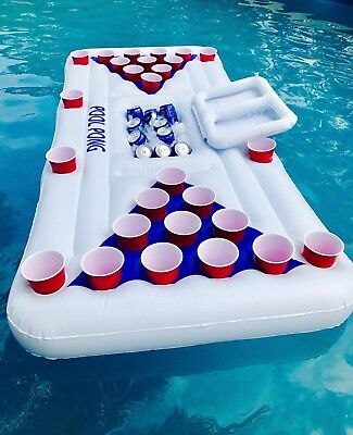 Blow up Inflatable Beer Pong ☀️Australian Supplier ☀️ Christmas Idea ☀️ Pool Toy