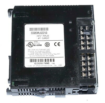 GE Fanuc IC693ALG221G 4pt Current Analog Input Module