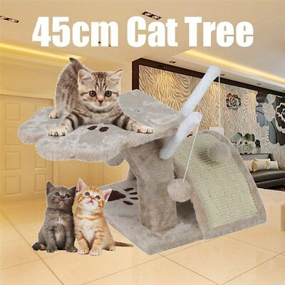 Cat Scratching Post Tree Gym House Scratcher Pole Furniture Toy Small 45cm CZS