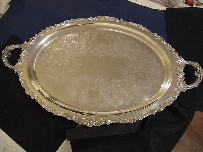 """""""BAROQUE"""" by WALLACE LARGE WAITER'S TRAY....294F"""