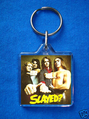 Slade-Slayed Keyring Glam Rock 70's