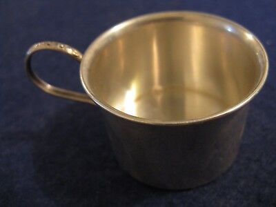 STERLING SILVER BABY/INFANT CUP by LULLABY (ALVIN)....#1927
