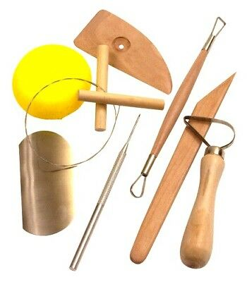 Pottery Tool Kit Wood Modelling Tools Needle Tools Wire Cutters Ribbon Tool Set