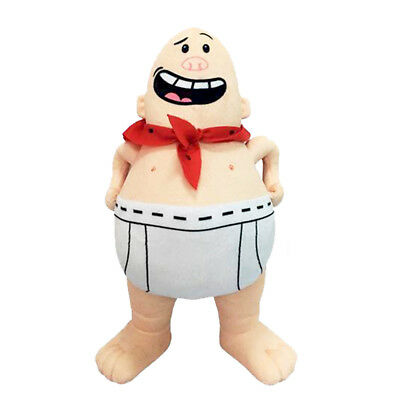 Dreamworks Captain Underpants Plush Toys Licensed Soft Doll Stuffed 20-23cm
