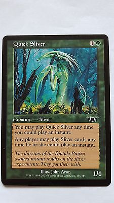 1x QUICK SLIVER - Rare - Legion - MTG - NM - Magic the Gathering
