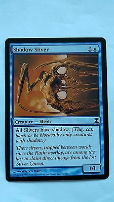 1x SHADOW SLIVER - Rare - Time Spiral - MTG - NM - Magic the Gathering