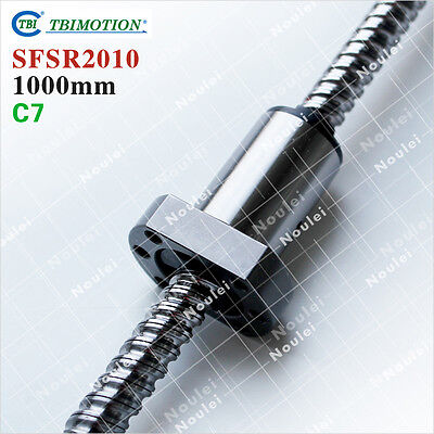 TBI Ball screw 2010 with 1pcs Single Nut SFS2010/SFU2010 1000mm long