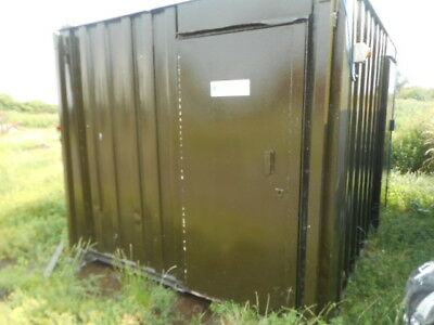 12' x 9' anti vandal toilet male female urinal portable building container loo