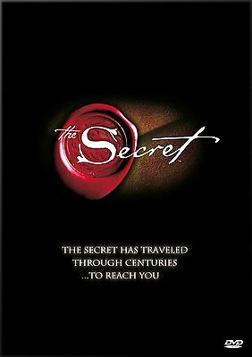 -The Secret by Rhonda Byrne DVD ( NEW   AND  SEALED )