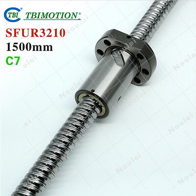 TBI 3210 Ball screws L=1500 Rolled C7 with SFU3210 Ballnut