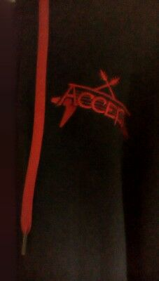 ACCEPT TOUR HOODIE Blind Rage + RESTLESS AND LIVE DBL CD ROCK HEAVY METAL UDO