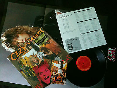 """Ozzy Osbourne  - Ultimate Live Ozzy 12"""" Japan 1986 NM/NM with Poster & Postcards"""