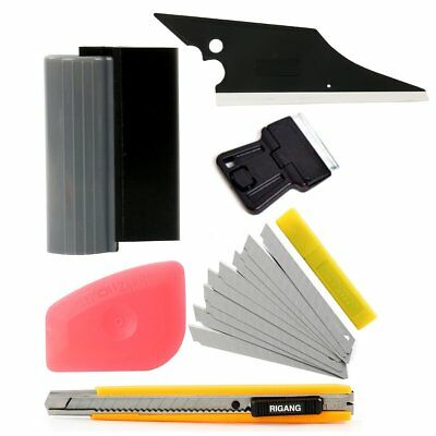 5 in 1 Car Window Tint Tools Kit for Auto Film Tinting Squeegee Scraper Set