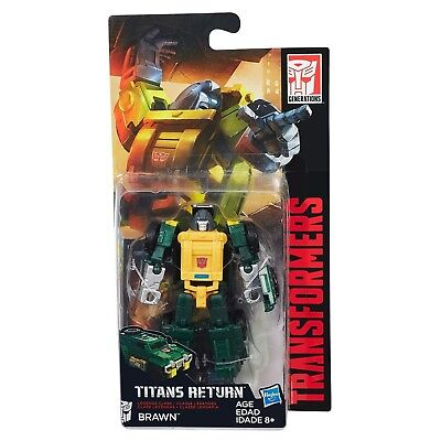 Transformers: Generations - Titans Return - Brawn