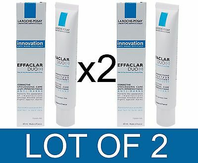 La Roche-Posay Effaclar Duo [+] Dual Action Acne Treatment | Lot Of 2 X 40Ml
