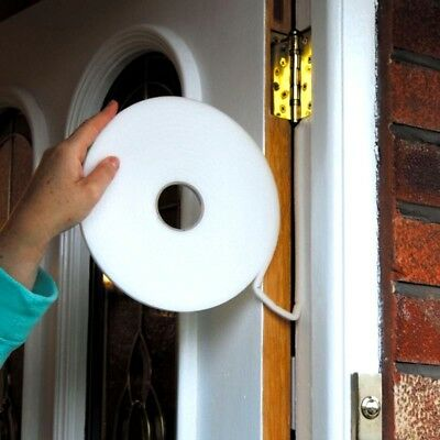 Draft Tape Draught Excluder Tape Door & Window Seal Tape Insulation Foam Tape