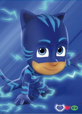 Unofficial PJ MASKS - CATBOY (5) *Glossy A4* print Poster - disney mickey paw