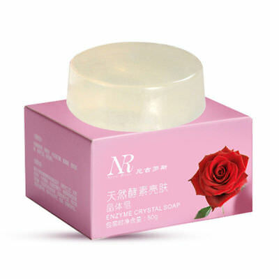 Handmade Whitening Natural Active Enzyme Crystal Soap armpit Intimate Area 50 gm