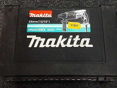 Makita HR2470 Corded 110V SDS 3 Settings Hammer Drill, 780W  Hyd72462