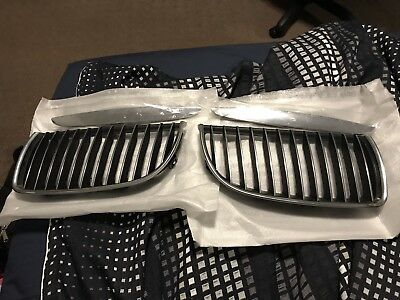 OEM BMW 3 Series E90 2007 Front Grilles
