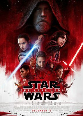 Unofficial Star Wars LAST JEDI (44) Glossy A4 print Poster - battlefront kylo r2