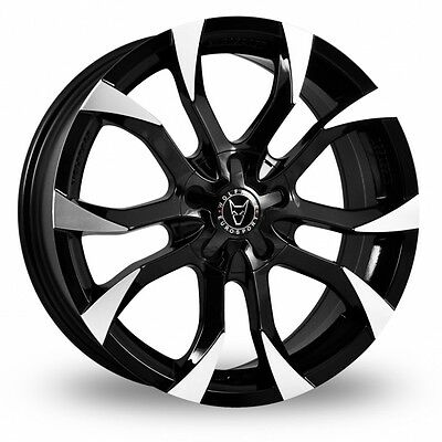 """18"""" Wolfrace Assassin Alloy Wheels 5X120 Vw Transporter T5 T6 *load Rated*"""