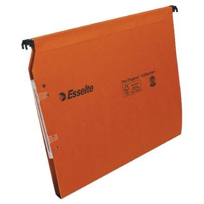 Esselte Orgarex Orange Lateral A4 File 15mm (Pack of 25) 21628 [ES21628]