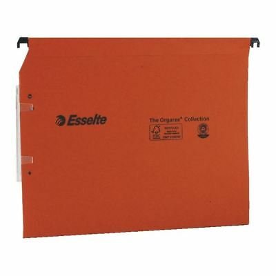 Esselte Orgarex Orange Lateral A4 File 30 mm (Pack of 25) 21629 [ES21629]
