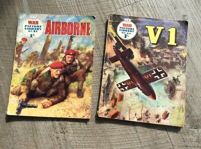 War Picture Library comic Nos 21 and 24. 1959