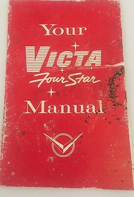 1960's Victa Lawnmower Four Star Owners Manual