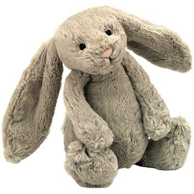 Bashful Bunny Incredibly Soft Toy Beige Medium, Easter Bunny, by JELLYCAT
