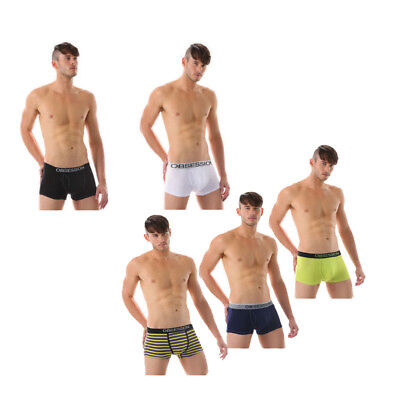 *NEW* Men Bamboo Breathable Fibre Boxer Brief Trunk Underwear Size M L XL XXL