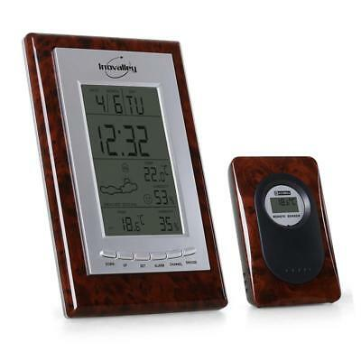 Inovalley Sm 121 Digital Weather Station Alarm Air Humidty Thermometer Clock