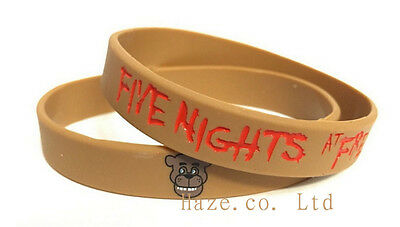 Five Nights At Freddy's Freddy Fazbear and Chica Bracelet Kids Toy Brown