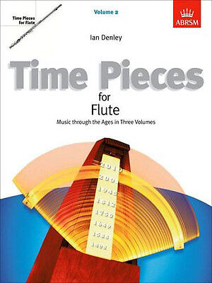 ABRSM Time Pieces for Flute, Grades 2 & 3 Vol 2: Music thru the Ages BRAND NEW !