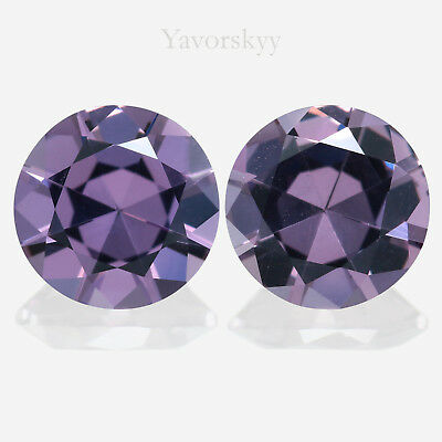 Malaia Garnet Natural Yavorskyy-cut 2.32 ct / 2 pcs