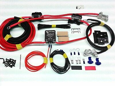 VICTRON CYRIX-CT SPLIT CHARGE KIT 12/24V 120A VSR RELAY 1-10mtrs START ASSIST