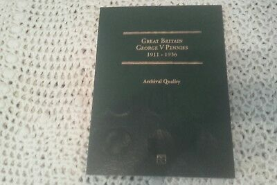 littleton coin folder for pennies 1911-1936 with lots of coins ex con