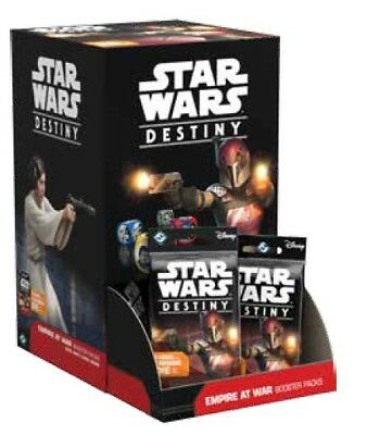 FFG Star Wars Destiny Empire at War CCG Sealed Booster Box 36 Booster Packs